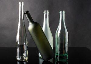 décoration bouteille vin